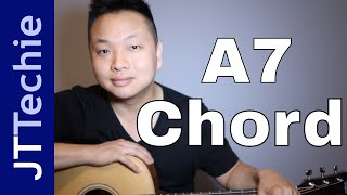 How to Play A7 Chord on Acoustic Guitar