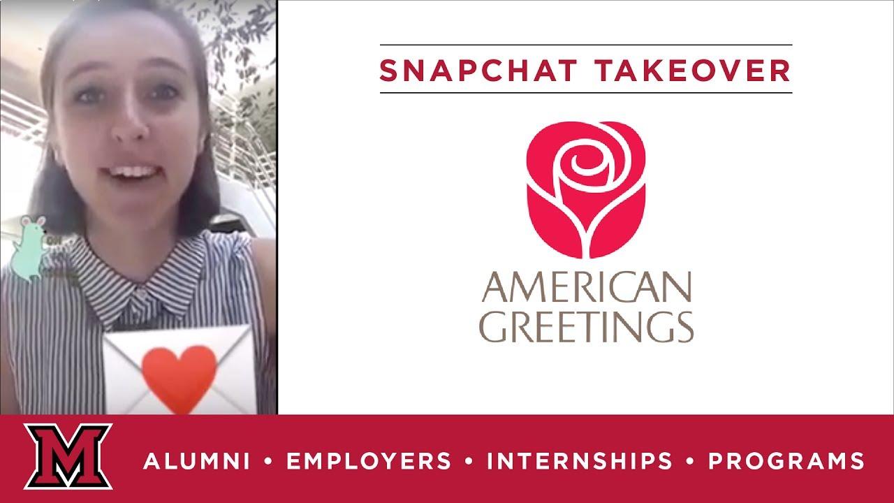 Lauras marketing internship for american greetings in cleveland oh lauras marketing internship for american greetings in cleveland oh m4hsunfo