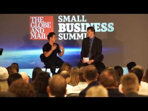 Harley Finkelstein of Shopify at the Globe's Small Business