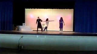 "Theatre II- 5th period - Genre/Styles scenes 2016 - ""Tartuffe"" Ian, Sammie, and Chelsea"