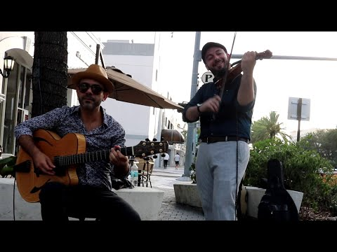 Gypsy Jazz Duo w/ Violin