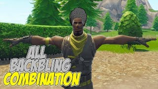 All Back Bling Combinations On Scout.RARE SKIN*- Fortnite