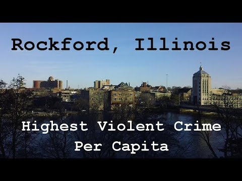 Rockford Mass Transit District (Through The City) Rockford, IL - Highest Violent Crime Per Capita