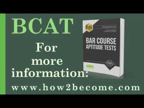 Bar Course Aptitude Test (BCAT) - Sample questions for becoming a barrister