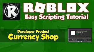 Roblox | How to make a Currency Shop Gui | 2019 [FE]
