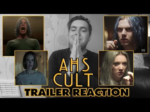American Horror Story CULT - Season 7 - OFFICIAL TRAILER (Reaction)