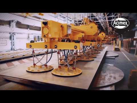ACIMEX, leader in the industrial handling of heavy loads