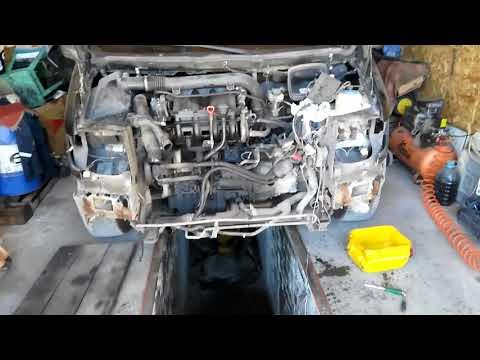 """""""ГТ"""" Мерседес Вито 638. Возможно ли снять двигатель через морду!??"""
