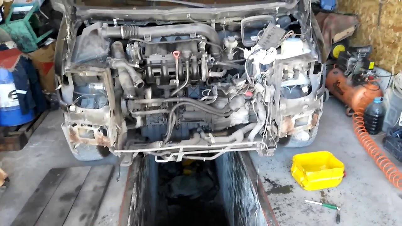 миллионник двигатель на мерседес вито