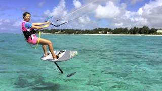 Mauritius Attitude Kite Foil Challenge 2015
