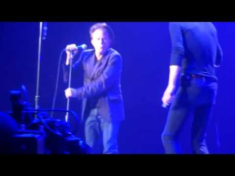 """Rolling Stones withTom Waits  """"Little Red Rooster"""" from T pit @Oracle Arena Oakland, CA 5,5,2013"""