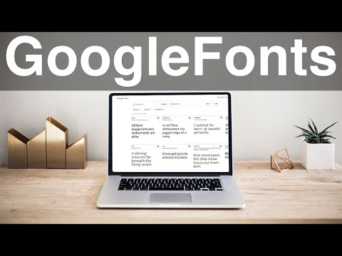 How To Use Google Fonts In Your Website