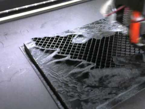 D Printing Topographic Map YouTube - Print topo maps