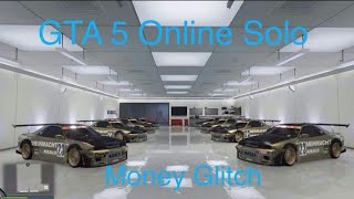 GTA 5 ONLINE FROZEN MONEY GLITCH