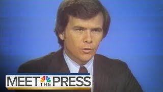 MTP At 70: Tom Brokaw Talks Watergate, Tim Russert & Legacy Of The Show | Meet The Press | NBC News