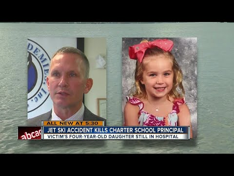 Jet ski accident kills charter school principal