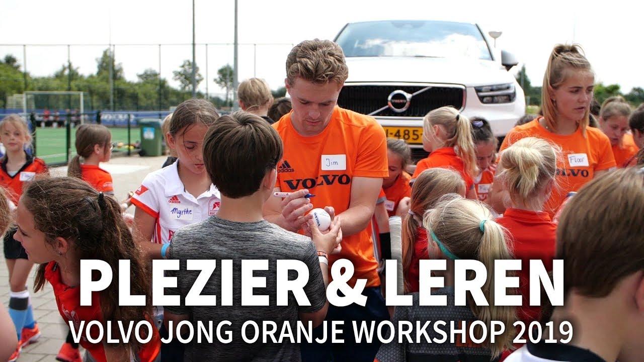 Spiksplinternieuw Genieten tijdens leerzame Volvo Jong Oranje Workshop 2019 - YouTube RR-15