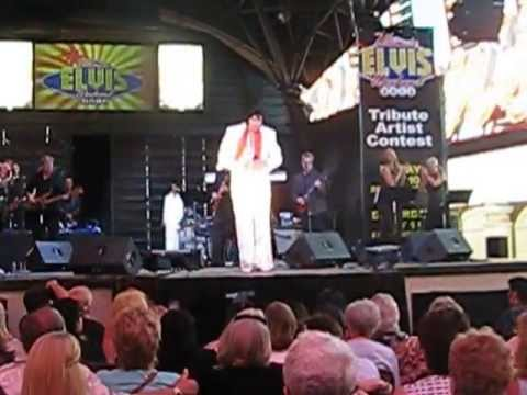 John Gilpin aka Elvis Powers-Fremont Street Las Vegas Ultimate Elvis May 2013 034