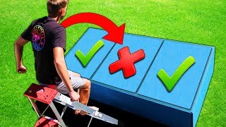 DONT Jump on the Wrong TRAP DOOR!! (PAINFUL MYSTERY ITEMS UN...