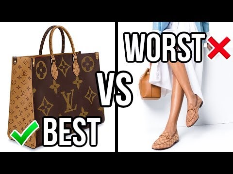 BEST & WORST Luxury Purchases of 2019! *oops*