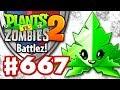 SPEAR-MINT! New Power Mint! - Plants vs. Zombies 2 - Gameplay Walkthrough Part 667