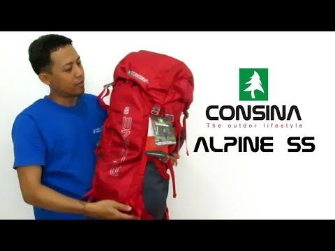 Tas Gunung Carrier Consina Tipe Alpine 55 | Review Outdoor Gear