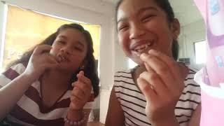 👅TASTE TEST👅W/SISTER AND MOTHER ||MEISHKA  CHATTO