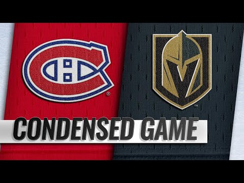 12/22/18 Condensed Game: Canadiens @ Golden Knights