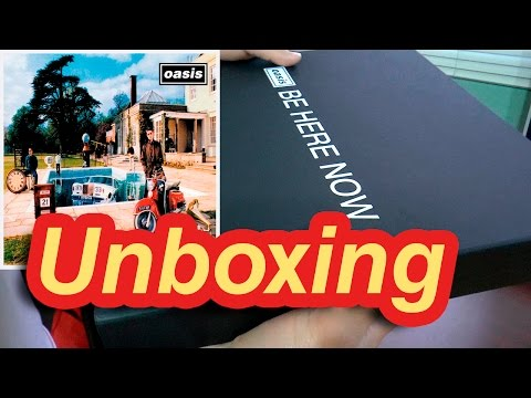 Unboxing #Oasis Be Here Now Super Deluxe Box Set #Supersonic