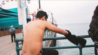 JUMPING off the Santa Monica Pier???