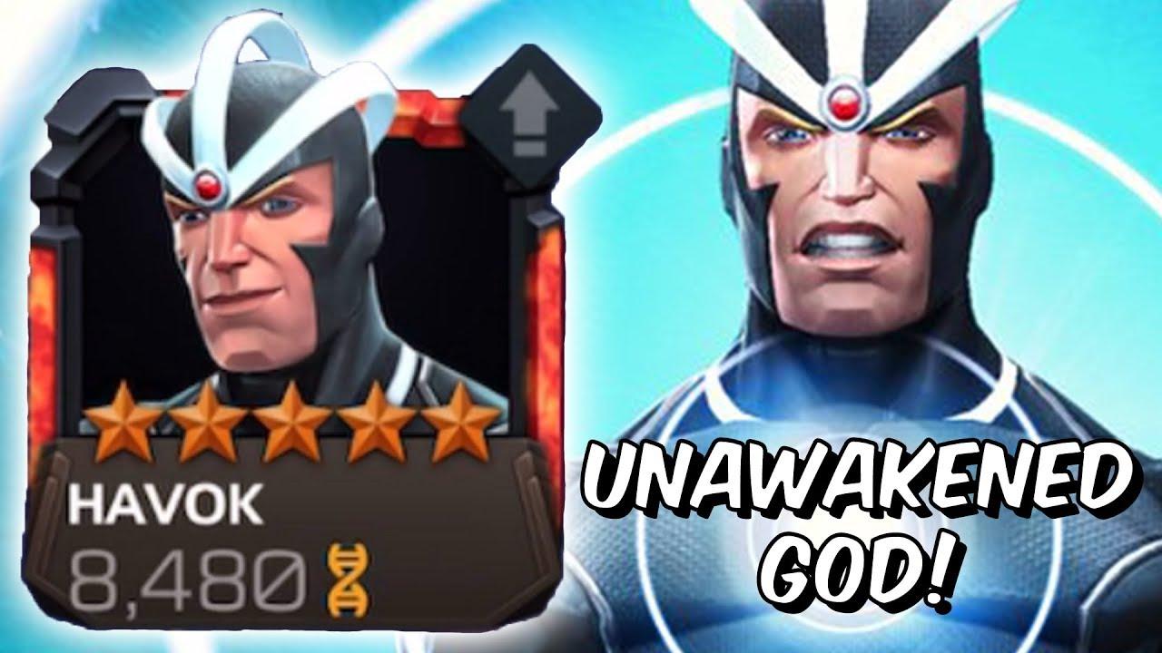 5 Star Rank 4 Havok Rank Up & Variant Gameplay! - Unawakened God - Marvel  Contest Of Champions