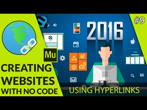Working With Hyperlinks - #9 Adobe Muse Quickstart Tutorial Guide