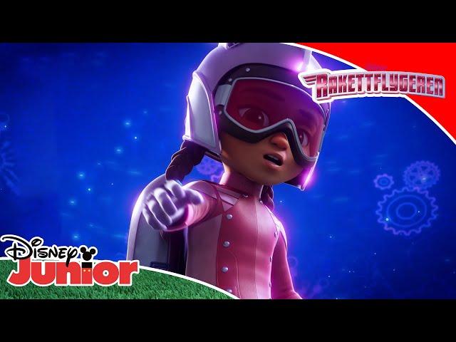 Topp 5 oppdrag 🌟   Rakettflygeren   Disney Junior Norge