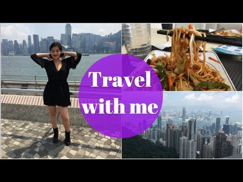 TRAVEL WITH ME // BEING A TOURIST IN HONG KONG