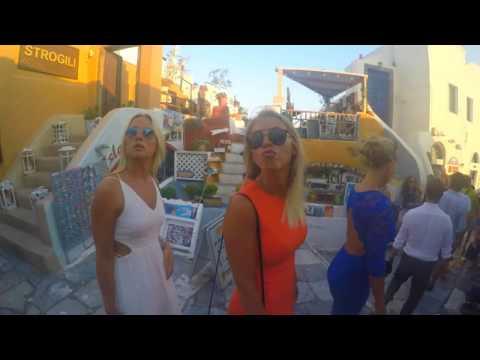 Santorini, Greece with friends, 2016 - Gopro HD