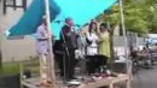 2008年5月5日 祝春一番2008 開演前サブステージにて.