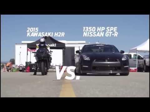 Can a Nissan GTR beat a Superbike