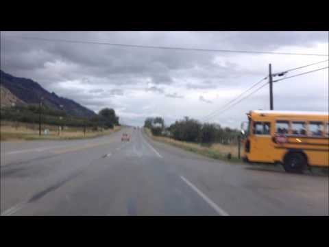Drive: Brigham City to North Ogden, Utah; Walmart to Library; made wrong turn