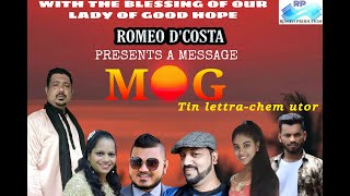 Mog  Tin lettra che utor |Short message written By Romeo D'costa