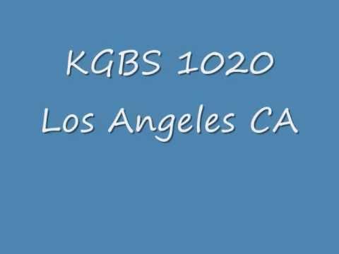 KGBS 1020 Los Angeles CA  1970  Bill Thompson