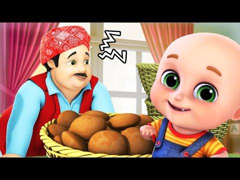 Gol matol lalaji   লালাজী তো কলা খেলো - Lala Ji ne Kela Khaya - Bengali Rhymes for Children