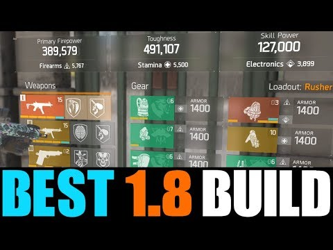 THE DIVISION - BEST PVP DAMAGE & DPS BUILD IN PATCH 1.8! STRONGEST PVP BUILDS AFTER PATCH 1.8