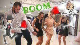 Прикольные танцы под музыку на свадьбе от друзей   свадебный батл и приколы на свадьбе