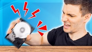 What if You SHAKE a Hard Drive WHILE It's Running?
