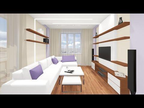 Видео презентация дизайн интерьера двухкомнатной квартиры в Новосибирске