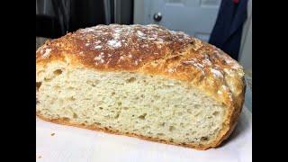 ДОМАШНИЙ ХЛЕБУШЕК за 5 мин Вашего времени Самый простой рецепт Хлеб можно не покупать