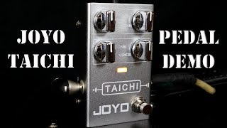 Joyo R-02 Taichi Overdrive - Guitar Pedal Demo