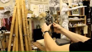 Лепка обрубовки торса - Обучение скульптуре. Фигура, 6 серия