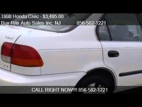1998 Honda Civic LX - for sale in Sewell, NJ 08080