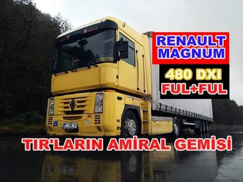 RENAULT MAGNUM 480 / REVIEW / AMERICAN SHIP OF CROPS
